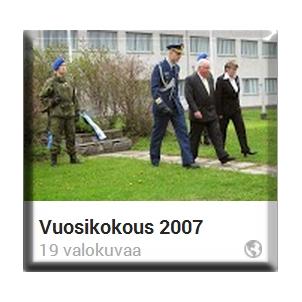 Vuosikokouskuvia 2007