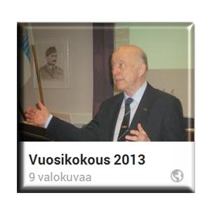 Vuosikokouskuvia 2013