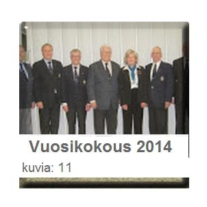 Vuosikokouskuvia 2014