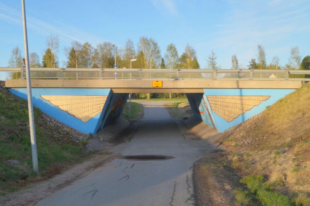 Tunnelisiivet taidetta